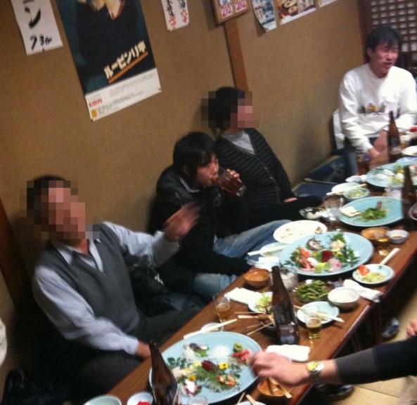 2011年新年会 所沢