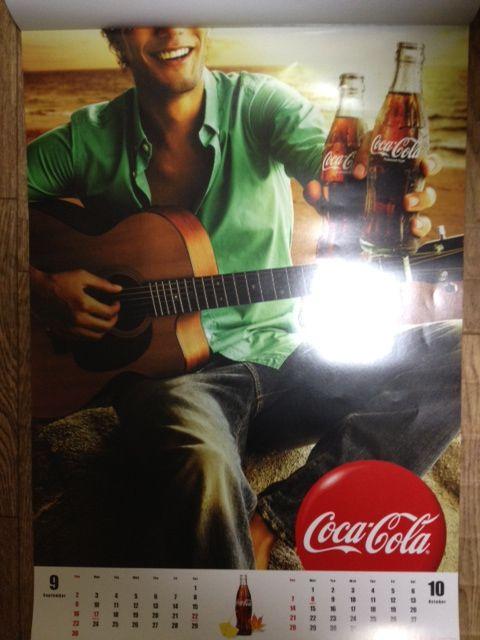 2012 コカコーラカレンダー