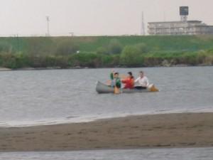江戸川カヌー