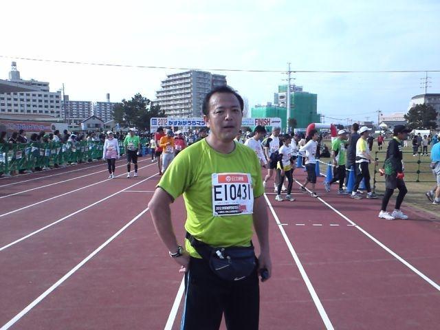 第22回かすみがうらマラソン なんとか完走