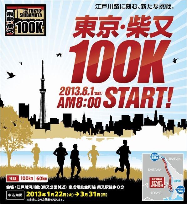 東京・柴又 100Kのウルトラマラソンが開催されるらしい