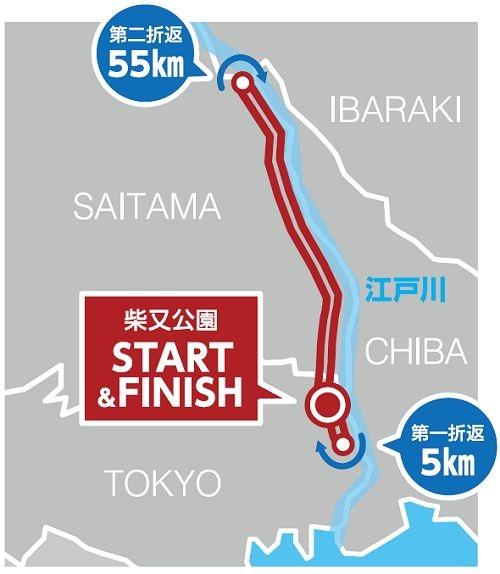 東京・柴又 100Kウルトラマラソン 公式サイトオープン