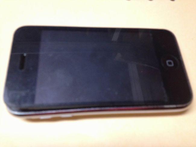 iPhone3GS 破裂 どういうこと?