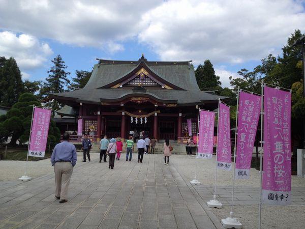 笠間稲荷神社にお札を返しに行ってきた