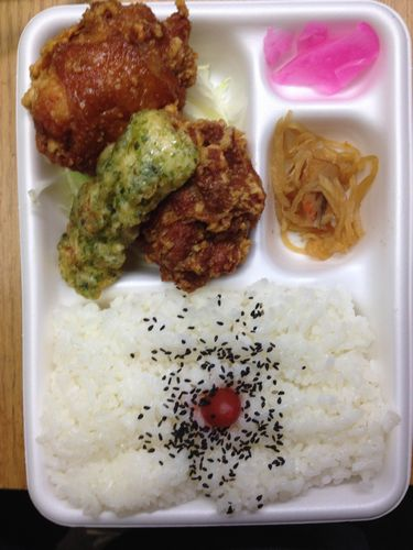 日本亭 トリ2弁当