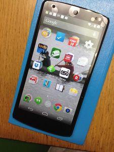 Nexus5 やっぱいいわ!
