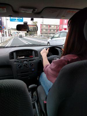 娘の初運転 運転初心者マニュアル