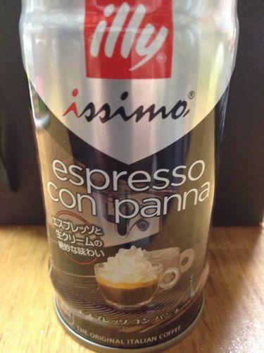 イリー イッシモ エスプレッソ コン パンナ 生クリームの甘さがほどよい